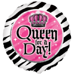 "18"" Queen for A Day Foil Balloon"